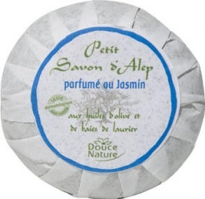 Illustration Savon d'Alep Jasmin 100 g