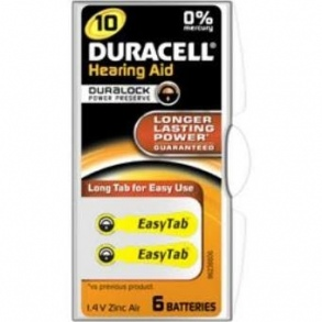 Duracell - DURACELL EASYTAB PILE 10 JAUNE