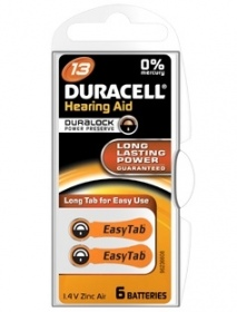 Duracell - DURACELL EASYTAB PILE AUDITIVE 13 ORANGE