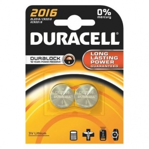 Illustration DURACELL PILE BOUTON 2016 X2