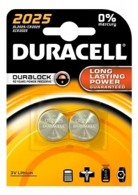 Duracell - DURACELL PILE BOUTON 2025 X2