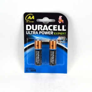 Illustration DURACELL ULTRA POWER EXPERT PILE LR6/AA X2