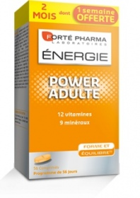 Illustration Energie Power Adulte - 56 comprimés