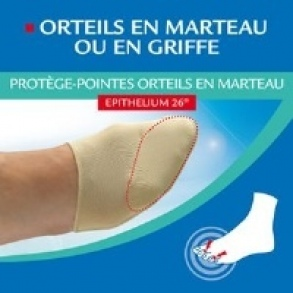 Illustration EPITACT PROTEGE POINTES ORTEILS MARTEAU P42/45 X2