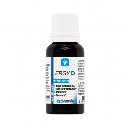 Nutergia - Ergy D solution buvable 15 ml
