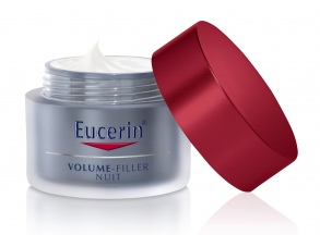 Illustration Eucerin Volume filler soin de nuit 50ml