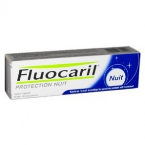 Illustration FLUOCARIL NUIT DENTIFRICE FLUORE 75ML