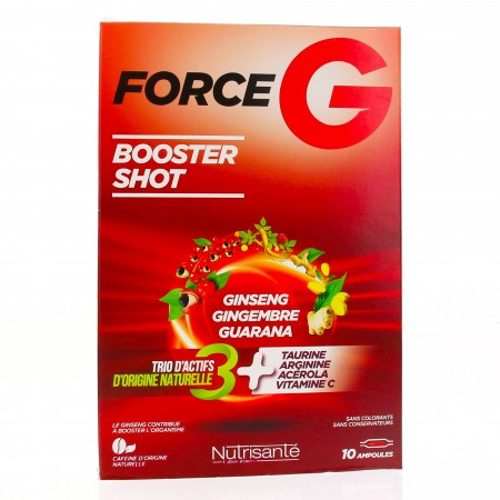 Illustration FORCE G POWER MAX SOLUTION BUVABLE AMP 10 ML X 10