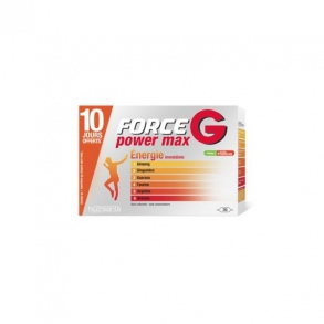 Illustration FORCE G POWER MAX SOLUTION BUVABLE AMP 10 ML X 30