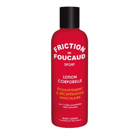 Illustration Friction sport lotion corps 200 ml