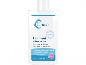 Gilbert Laboratoires - Liniment oleo-calcaire, flacon 250ml
