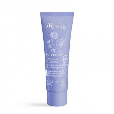 Illustration MELVITA BOUQUET FLORAL CR NETTOY EXFOLIANTE 50ML