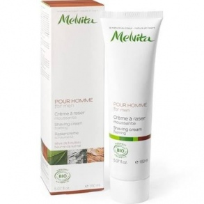 Illustration MELVITA HOMME CREME A RASER MOUSSANTE BIO 150ML