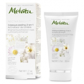 Illustration MELVITA NECTAR BRIGHT MASQUE PEELING 2EN1 50ML