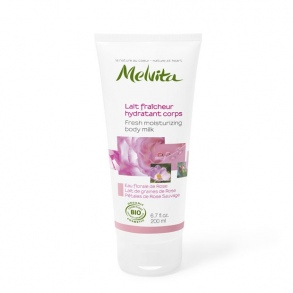 Illustration MELVITA NECTAR DE ROSE LAIT FRAI HYDR CORPS 200ML