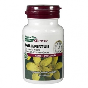 Nature's Plus - MILLEPERTUIS ACTION PROLONGEE COMPRIME 60