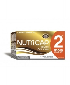 Illustration NUTRICAP VOLUME ANTICHUTE FEMME 45+ CAPSULE 120