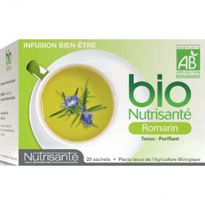 Illustration Infusion romarin bio - 20 sachets