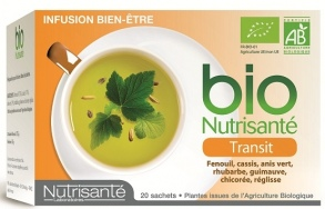 Illustration Infusion bio Transit - 20 sachets