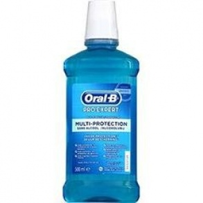 Illustration Bain de bouche Oral-b pro-expert multi-protection