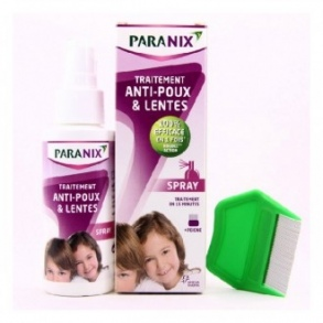 Paranix - PARANIX SPRAY ANTIPOUX 100ML + PEIGNE
