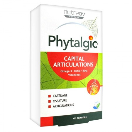 Illustration Phytalgic 45 Capsules