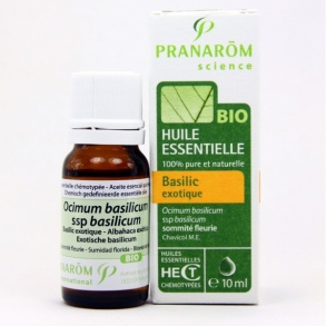 Illustration PRANAROM HECT BIO BASILIC EXOTIQUE SOM FLEU 10ML