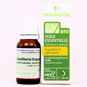 Illustration PRANAROM HECT BIO GAULTHERIE ODORANTE FEUIL 10ML