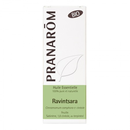 Illustration PRANAROM HECT BIO RAVINTSARA FEUILLE 10ML
