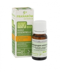 Illustration PRANAROM HECT CITRONNELLE JAVA PART AERIENNE 10ML