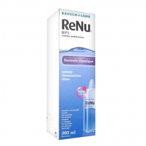 Illustration Renu MPS Solution multifonctions - 360 ml
