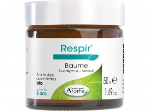 Illustration RESPIR BAUME CONFORT RESPIRATOIRE ADULTE 50ML