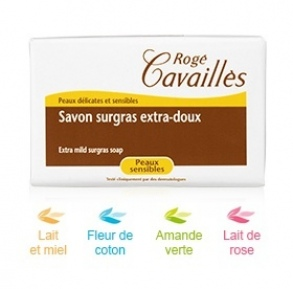 Illustration Savon Surgras Lait Miel 250g