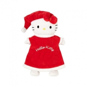 Illustration SANODIANE BOUILLOTTE ENFANT PELUCHE HELL KIT NOEL