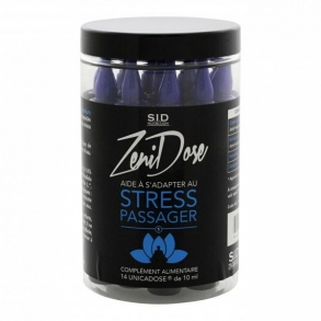 S.I.D Nutrition - SIDN ZENIDOSE STRESS PASSAGER UNICADOSE 10ML x 14