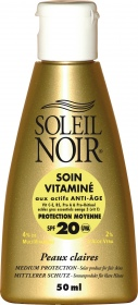 Illustration Soin vitaminé et protection solaire SPF20 - 50 ml