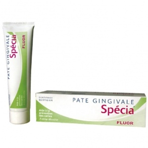 Illustration SPECIA PATE GINGIVALE FLUOR 100ML