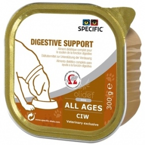 Illustration Specific CIW Digestive Support Chien 6 barquettes de 300 g