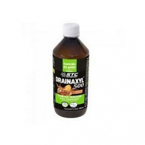 Illustration stc nutrition drainaxyl the peche 500 ml