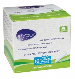 Unyque - Tampon NORMAL avec applicateur par 16