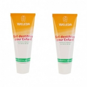 Illustration WELEDA CALENDULA GEL DENTIFRICE ENFANT 50ML X2