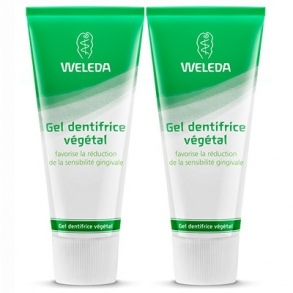 Illustration WELEDA GEL DENTIFRICE VEGETAL 75ML X2