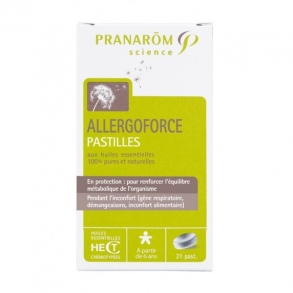 Illustration Allergoforce Pastilles - 21 pastilles