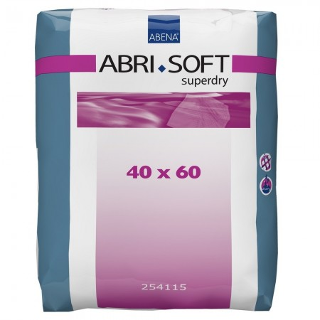 Illustration ABRI-SOFT SUPERDRY ECO 40X60CM PACK 60 ALESE SUPERDRY UU INCONTINENCE GROS VOLUME