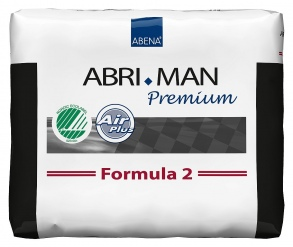 Illustration ABRI-MAN FORMULA2 AIR LAID PACK 14*12 700ML 25G INCONTINENCE GROS VOLUME