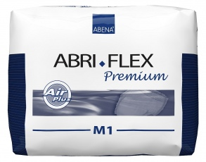 Illustration ABRI-FLEX AIR PLUS M1 1500ML 80-110CM BLEU INCONTINENCE GROS VOLUME
