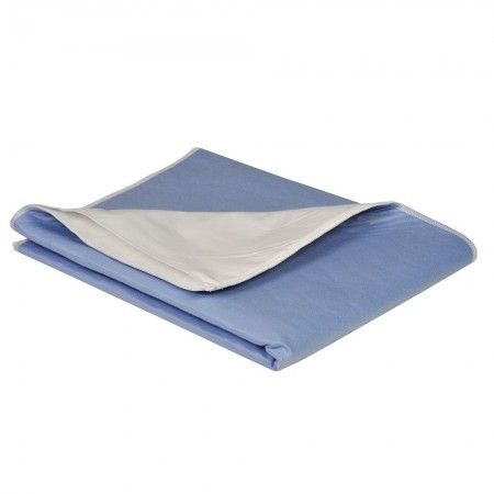 Illustration ABRI-SOFT LAVABLE 2000ML 75X85CM PACK 1 ALESE BLEUE BORDABLE INCONTINENCE