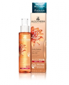 Illustration HUILE SOLAIRE AGE PROTECT SPF 20