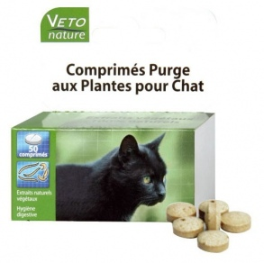 comprim s de purge aux plantes pour chat vetonature 50 comprim s de beaphar sur 1001pharmacies. Black Bedroom Furniture Sets. Home Design Ideas