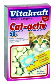 Vitakraft - FRIANDISES CAT-ACTIV VITAKRAFT 50 STICKS